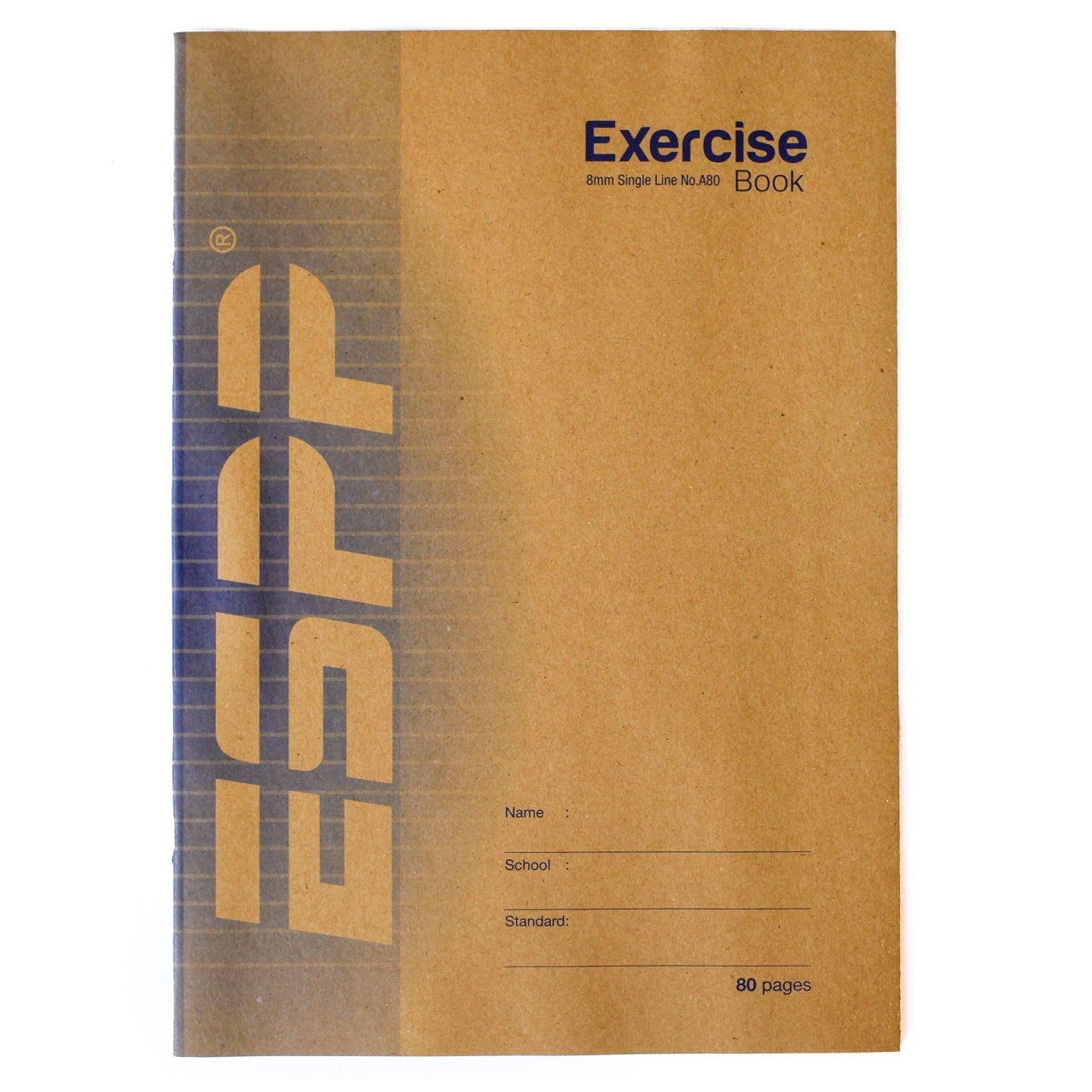 Exercise Book Cover Paper : Espp a single line exercise book using fsc paper w kraft